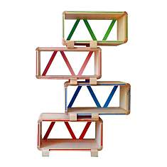 Meuble bibliothèque modulable design Kol...