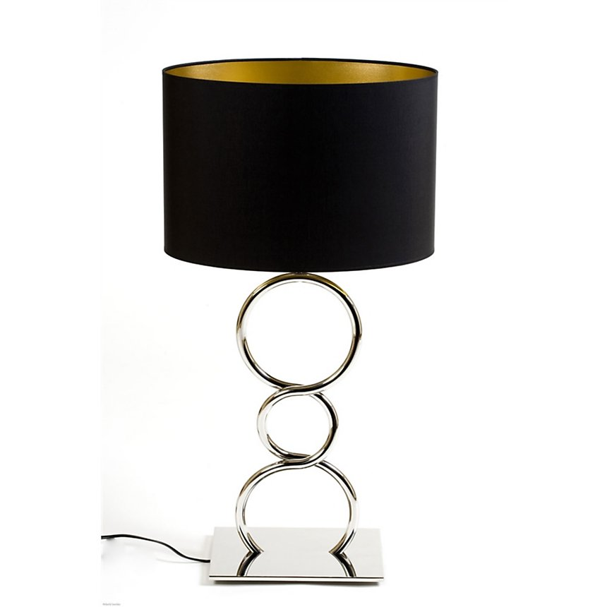Lampe Design Round and Round noir