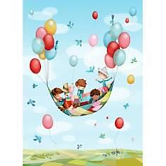Papier peint enfant - Dans les airs