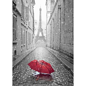 Affiche Red umbrella