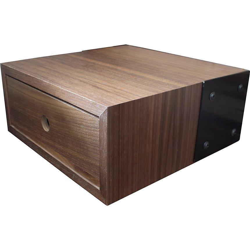 De Vaneau Acier Noyer Table Et Chevet Design 0nX8wOPk