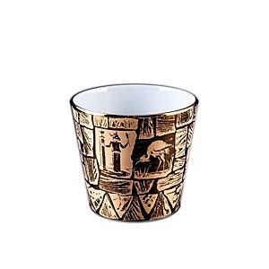 Gobelet S Porcelaine de Limoges décor IS