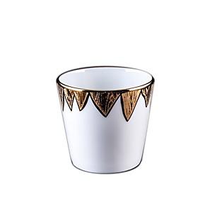 Gobelet S Porcelaine de Limoges décor NE