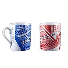 2 Mugs Porcelaine de Limoges SAINT GERMA