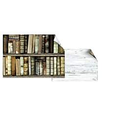 Sets de table Bibliothèque et Bois