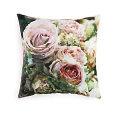 Coussin roses anglaises