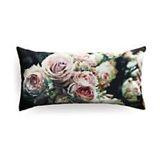 Coussin large roses anglaises