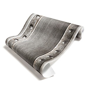 Papier Peint Poutre métallique pleine acier brossé