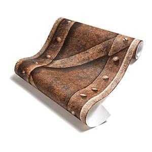 Papier Peint Poutre métallique à treillis rouillé