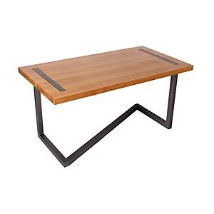 Bureau design en bois et acier
