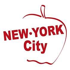 Stickers muraux New York Big Pom 50x34 c...