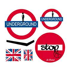 Stickers enfant Londres Kit Underground ...