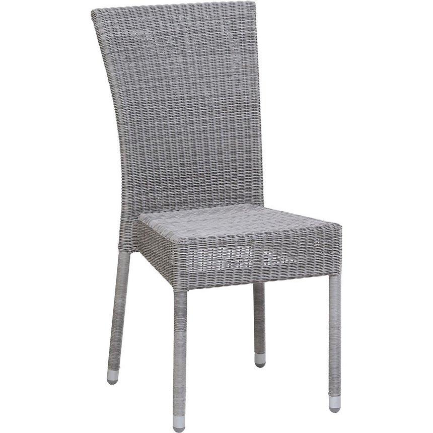 Chaise de jardin Isabelle résine