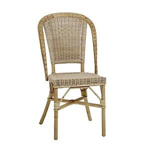 Chaise en rotin Albertine