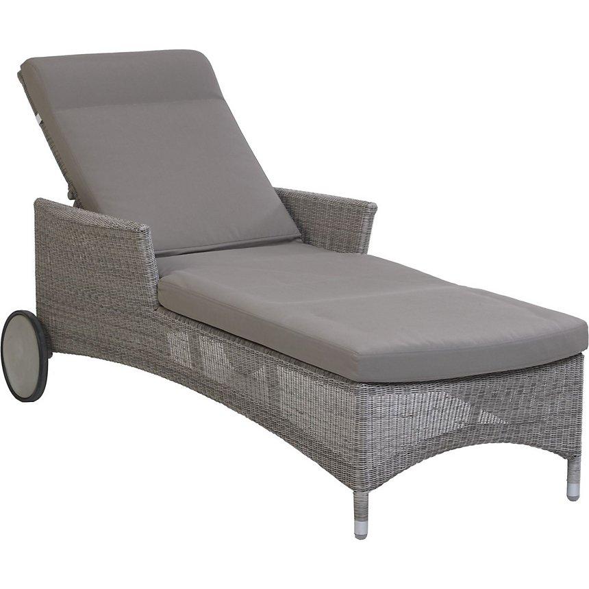Chaise longue jardin Atoll