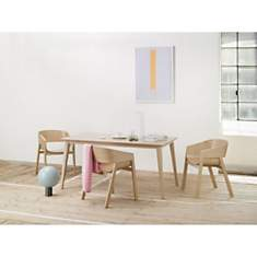 Table rectangle 90 x 180cm JUTLAND