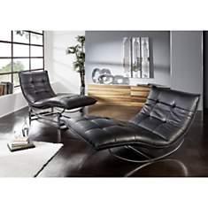 Chaise de relaxation ROCKME XL avec supp...