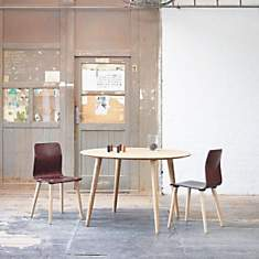 Table ronde en hêtre MALMÖ scandinave