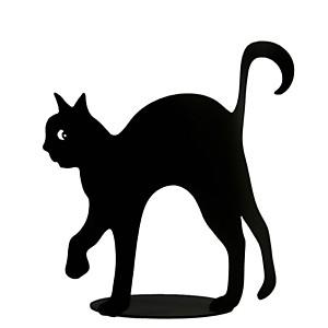 Photophore chat 'Max' noir