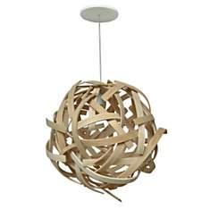Lustre design en bois Anouk