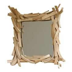 Miroir design en bois Agathe petit modèl