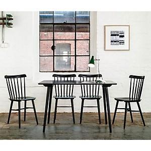 Table et 4 chaises IRONICA en hêtre