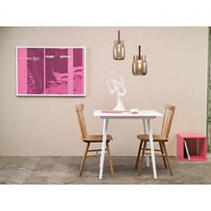 Ensemble table et 2 chaises IRONICA