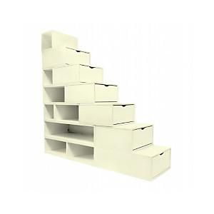 Escalier Cube de rangement 175 cm