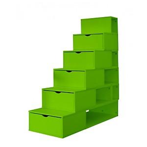 Escalier Cube de rangement 150 cm MDF