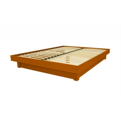 Lit plateforme bois massif