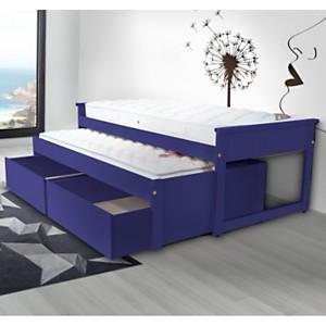 Lit Gigogne Maxi 90 x 200cm + tiroirs