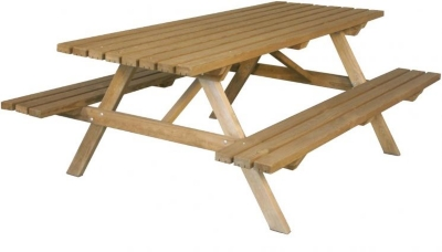 Table pique nique 200 - BURGER