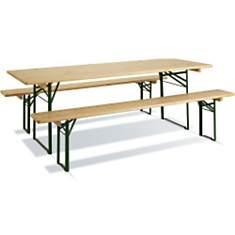 Table pique nique BRASSEURS en bois FSC ...