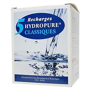 5 recharges filtrantes (filtre Classique) - HYDROPURE