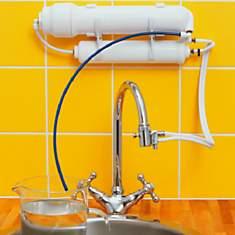 Osmoseur CP-35 sur évier - HYDROPURE