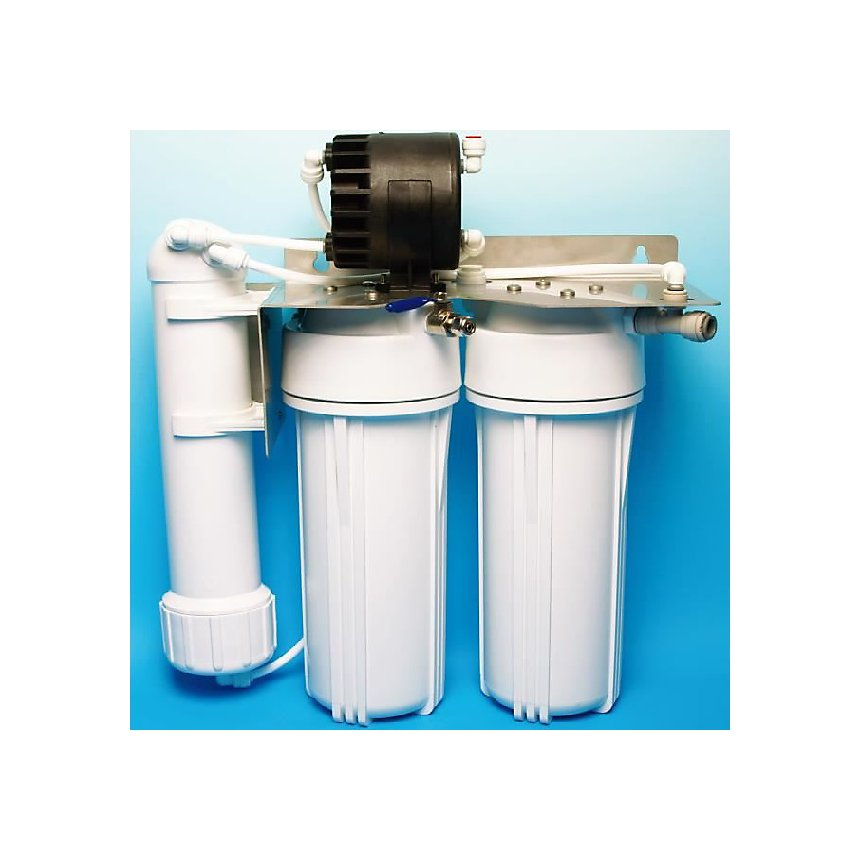 Osmoseur sous évier EXCEL II - HYDROPURE (Réservoir : Réservoir 4 Inox)