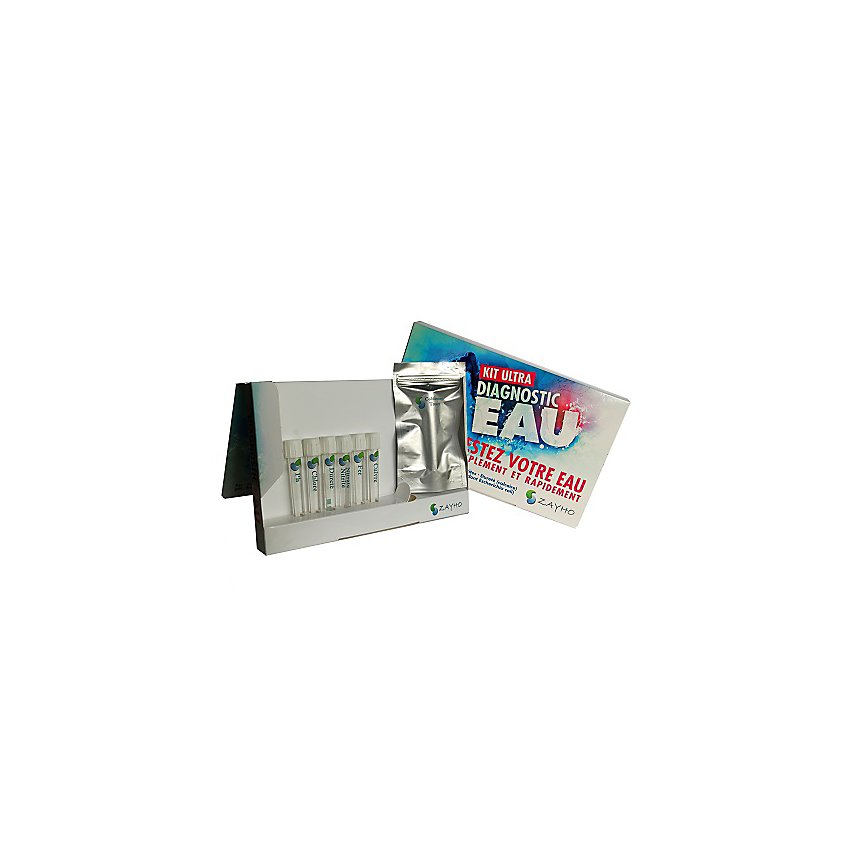 Kit Ultra diagnostic eau - ZAYHO