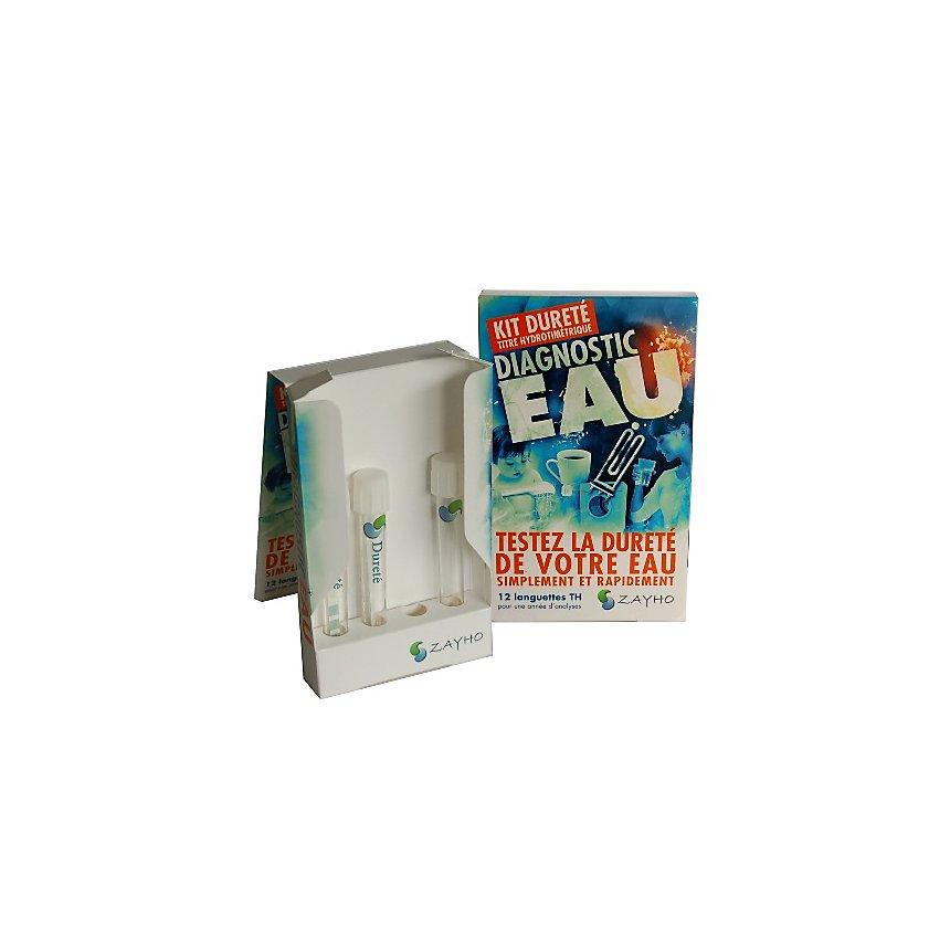 Kit Dureté diagnostic eau calcaire - ZAYHO