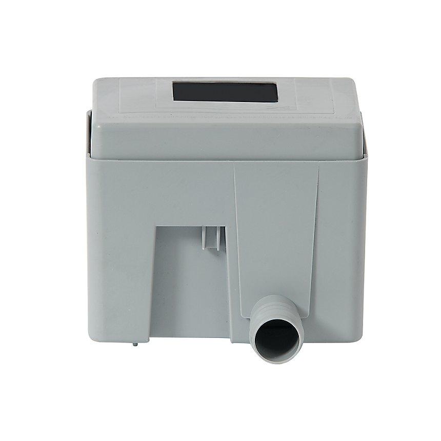 Collecteur eau de pluie carré Gris QUATTRO - GARANTIA