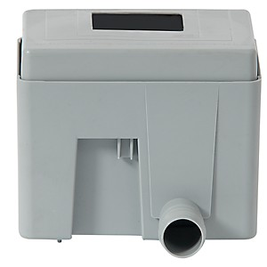 Collecteur eau de pluie carré Gris QUATT