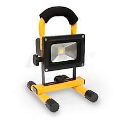 Projecteur LED 10W portable avec Batteri...