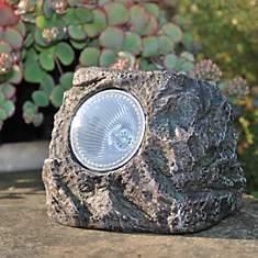 Spot solaire forme Rocher