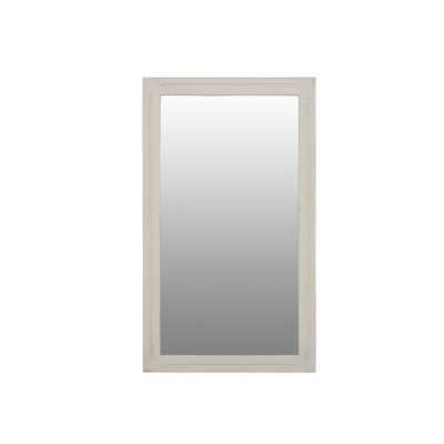 Miroir finition blanche