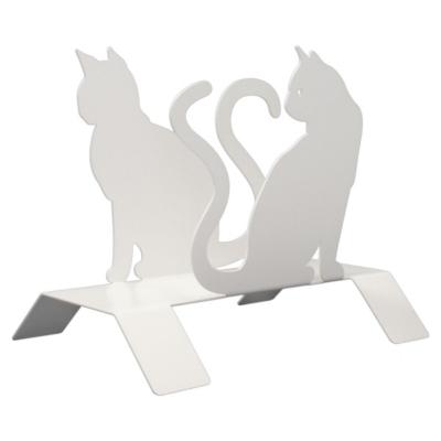Porte-magazines en métal Les chats
