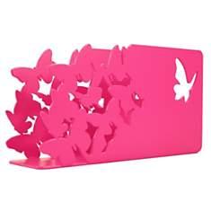Porte-courrier décoratif métal Papillons...