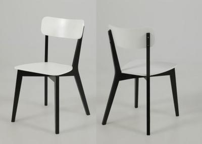 Lot de 2 Chaises modernes Luza Noir
