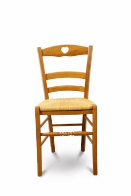 Lot de 2 chaises color es en h tre silva for Chaises colorees