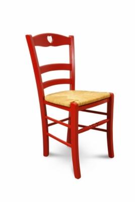 Lot de 2 chaises colorées en hêt...