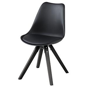 Lot de 2 chaises bois et résine EARL