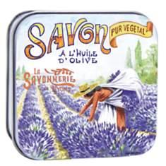 Savon Lavande 100 g et Boite Métal La Cu...